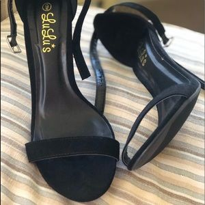 Lulu's Peep Toe Stilettos
